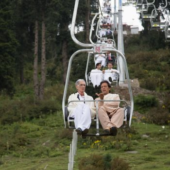 KPK Govt at Malam Jabba Ski Resort Opening